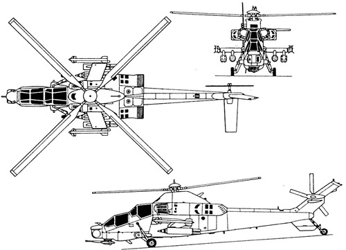 Denel Rooivalk (Atlas CSH-2 Rooivalk)