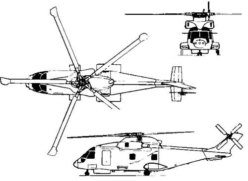 EH Industries EH-101 (AgustaWestland AW101 Merlin)
