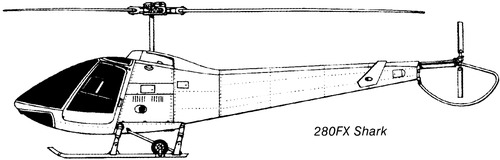 Enstrom 280FX Shark