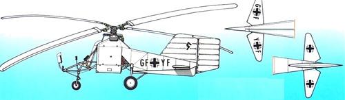 Fletner Fl 282 Kolibri