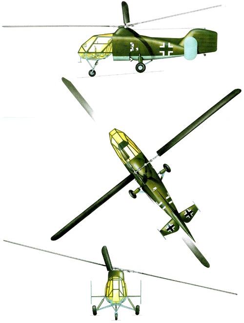Flettner Fl 282A (V3) Kolibri