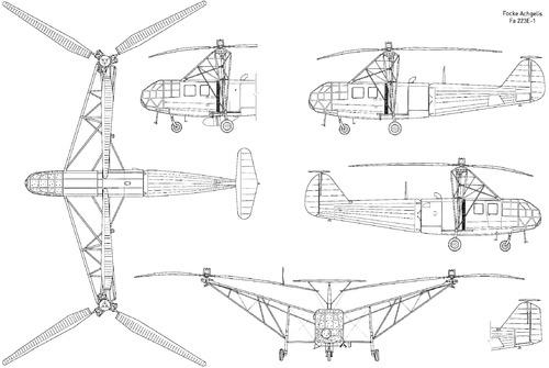 Focke Achgelis Fa 223E-1