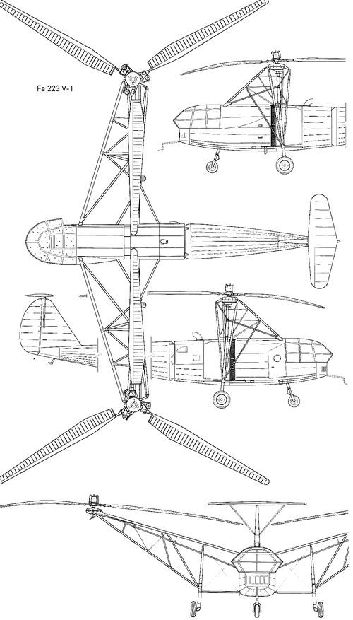 Focke Achgelis Fa 223V-1