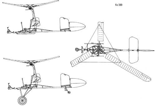 Focke Achgelis Fa 330 Bachstelze
