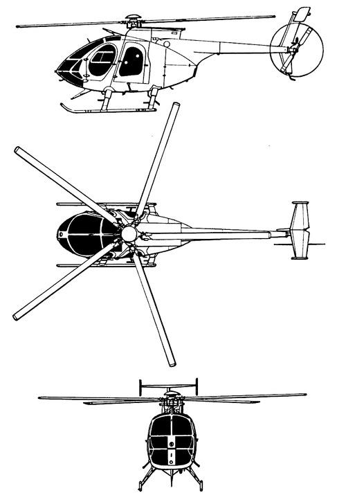 Hughes MD-500E