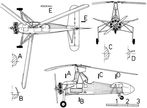 LeO-SNCASE C-301 Autogires