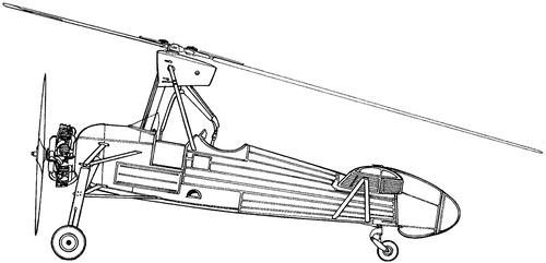 Liore et Olivier LeO C.301 (Cierva C.30)