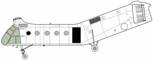 Piasecki H-21C Shawnee [Vertol]
