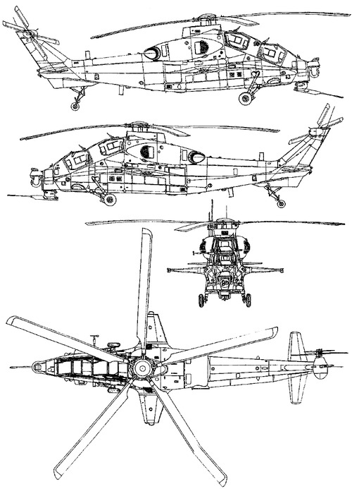 PLAAF WZ-10 Pl Li-Hou