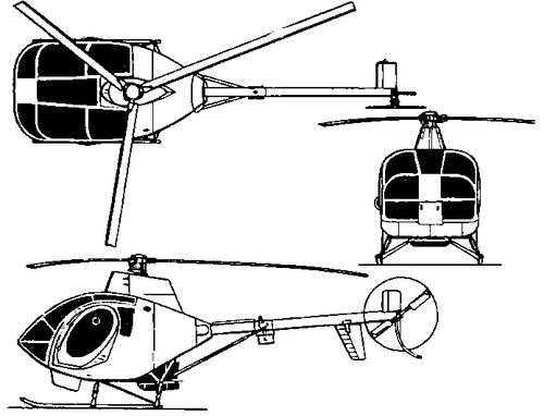 Schweizer 330 Sky Knight