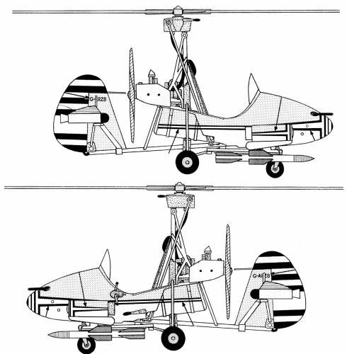 Wallis WA-116 Autogyro James Bond Little Nellie