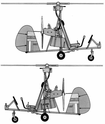 Wallis WA-116 Autogyro Military Open Frame Version