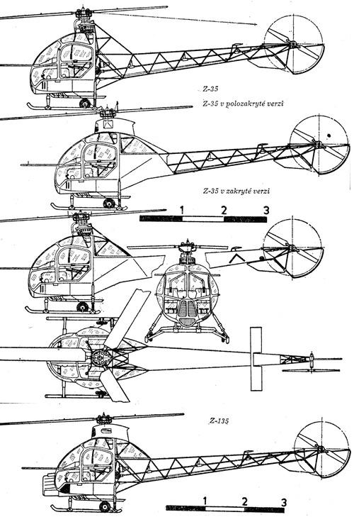 Zlin Z-35 Heli-Trener