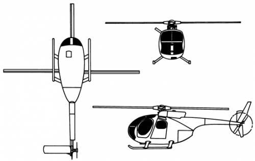 Hughes OH-6A Cayuse