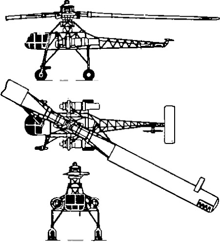 Hughes XH-17 Sky Crane