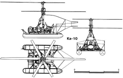 Kamov KA-10 Hat