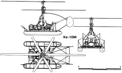 Kamov KA-10M Hat