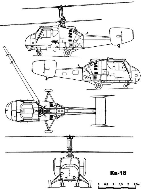 Kamov Ka-18 Hen