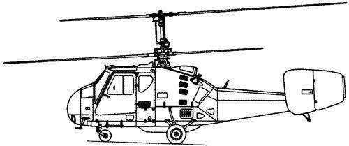 Kamov Ka-18 Hog