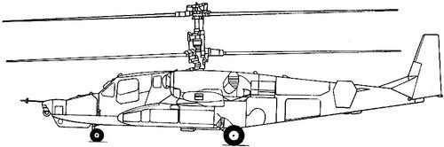 Kamov Ka-50 Chornaya Akula (Hokum A)