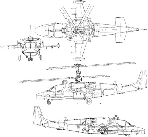 Kamov Ka-52 Alligator (Hokum-B)