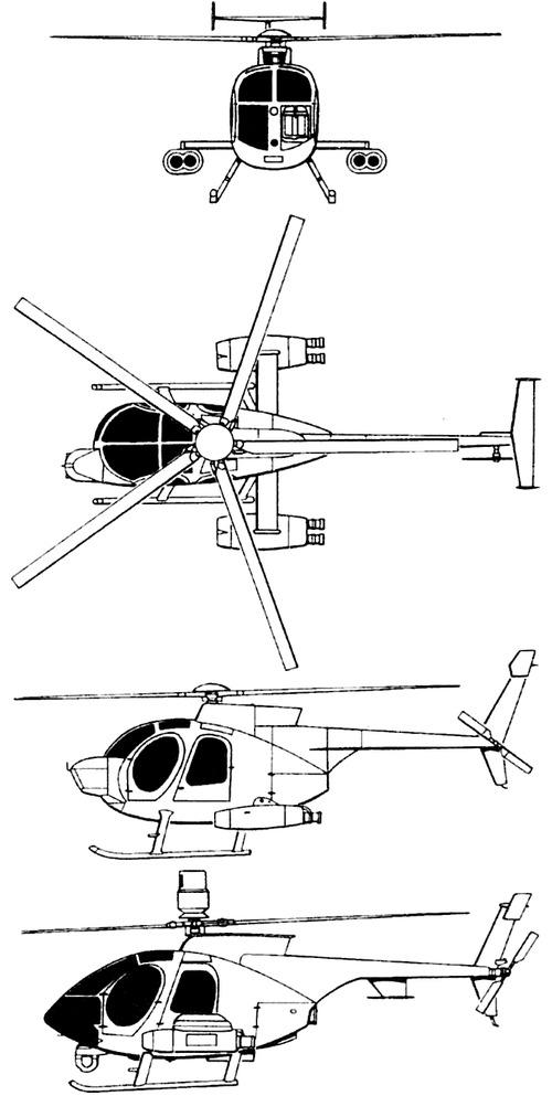 McDonnell Douglas A-MH-6 Little Bird