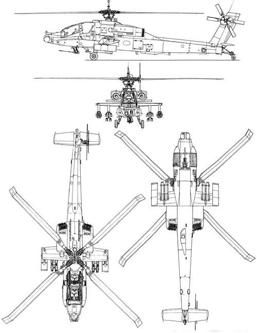 McDonnell-Douglas AH-64A Apache
