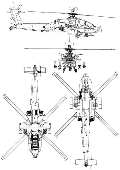 McDonnell-Douglas AH-64D Apache Longbow