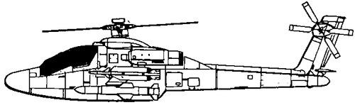 McDonnell-Douglas H-64N Sea-Apache