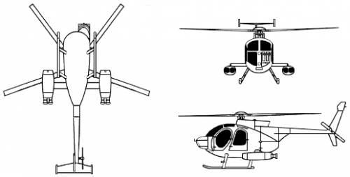 McDonnell Douglas-Hughes MD-500 Defender