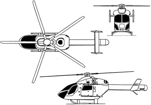 McDonnell Douglas Md-900 Explorer