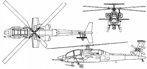 McDonnell Douglas YAH-64 Apache