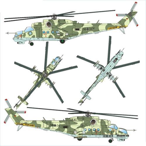 MiL M-24D Hind-F