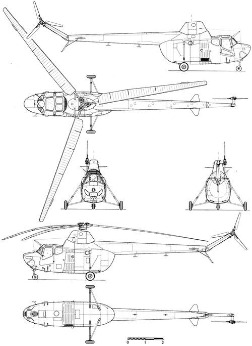 Mil Mi-1T Hare