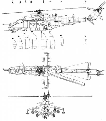 MIL Mi-24B (Hind)