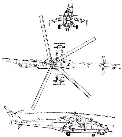 Mil Mi-24D Hind-F