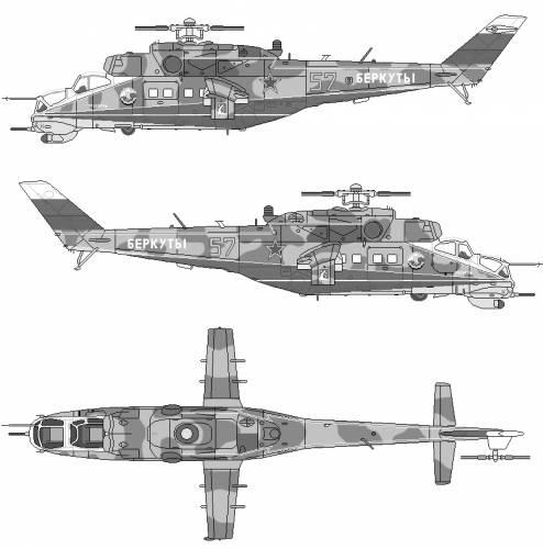 Mil Mi-24V-35 Hind E
