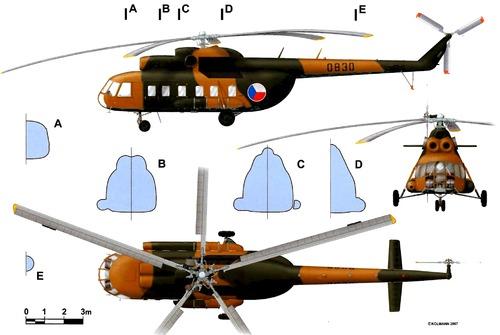 Mil Mi-8PS-11 Hip
