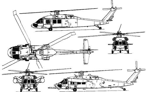 Sikorski S-70 SH-60 Seahawk