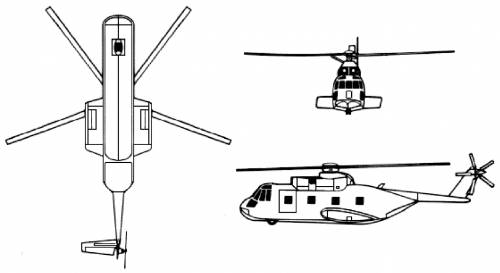 Sikorsky CH-3E HH3-E Jolly Green Giant