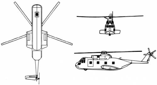 Sikorsky CH-3E-HH-3E Jolly Green Giant