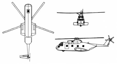 Sikorsky CH-3e Jolly Green Giant