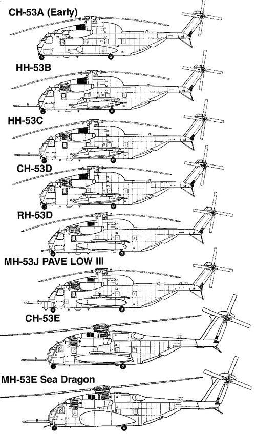 Sikorsky CH-53 Stallion
