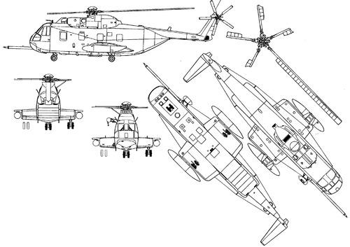 Sikorsky HH-3B Sea King