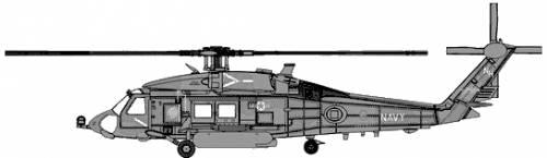 Sikorsky HH-60H-HS-6-Seahawk