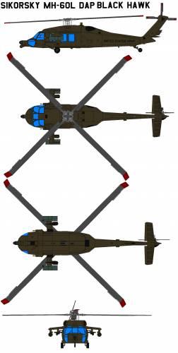 Sikorsky MH-60L DAP Black Hawk