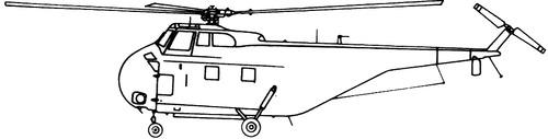 Sikorsky S-55 UH-19 Chickasaw