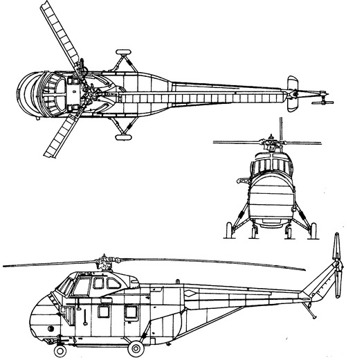 Sikorsky S-55 UH-19A Chickasaw