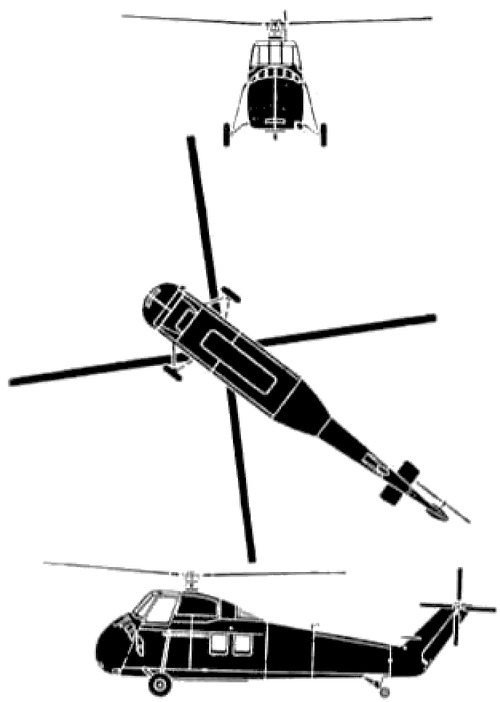 Sikorsky S-58 CH-34A Choctaw