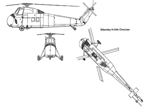 Sikorsky S-58 H-34A Choctaw